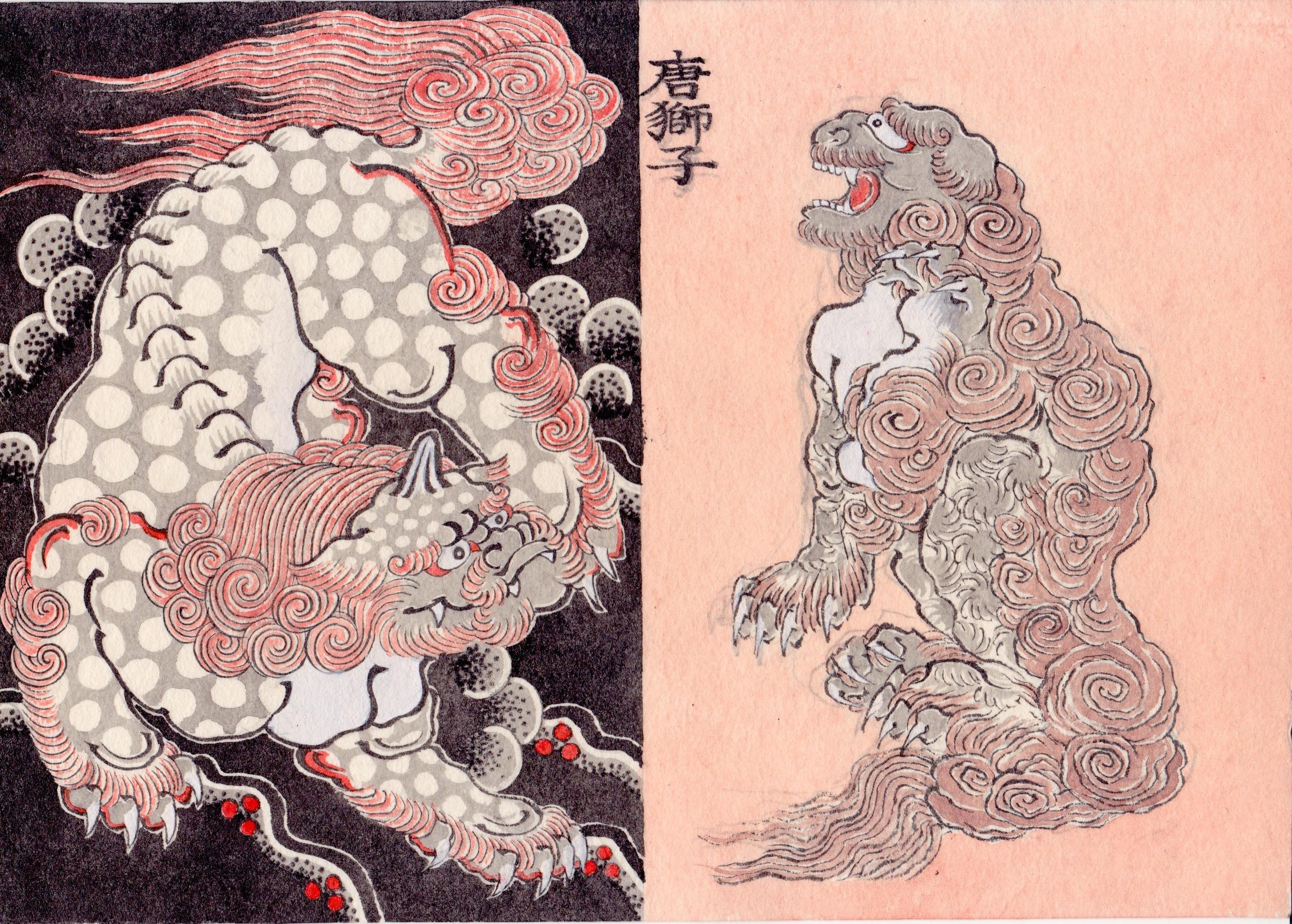 唐獅子 Fu-dog