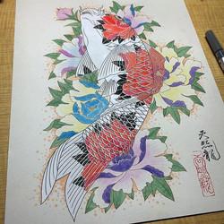 錦鯉 Koi fish