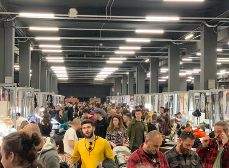 Milano Tattoo Convention - Kuro Sumi Ink Pro Team - MAnifacto Amsterdam - Tattoo Expo Maastricht