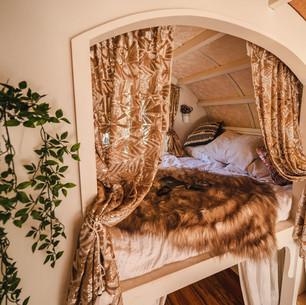 Jupiter gypsy wagon interior