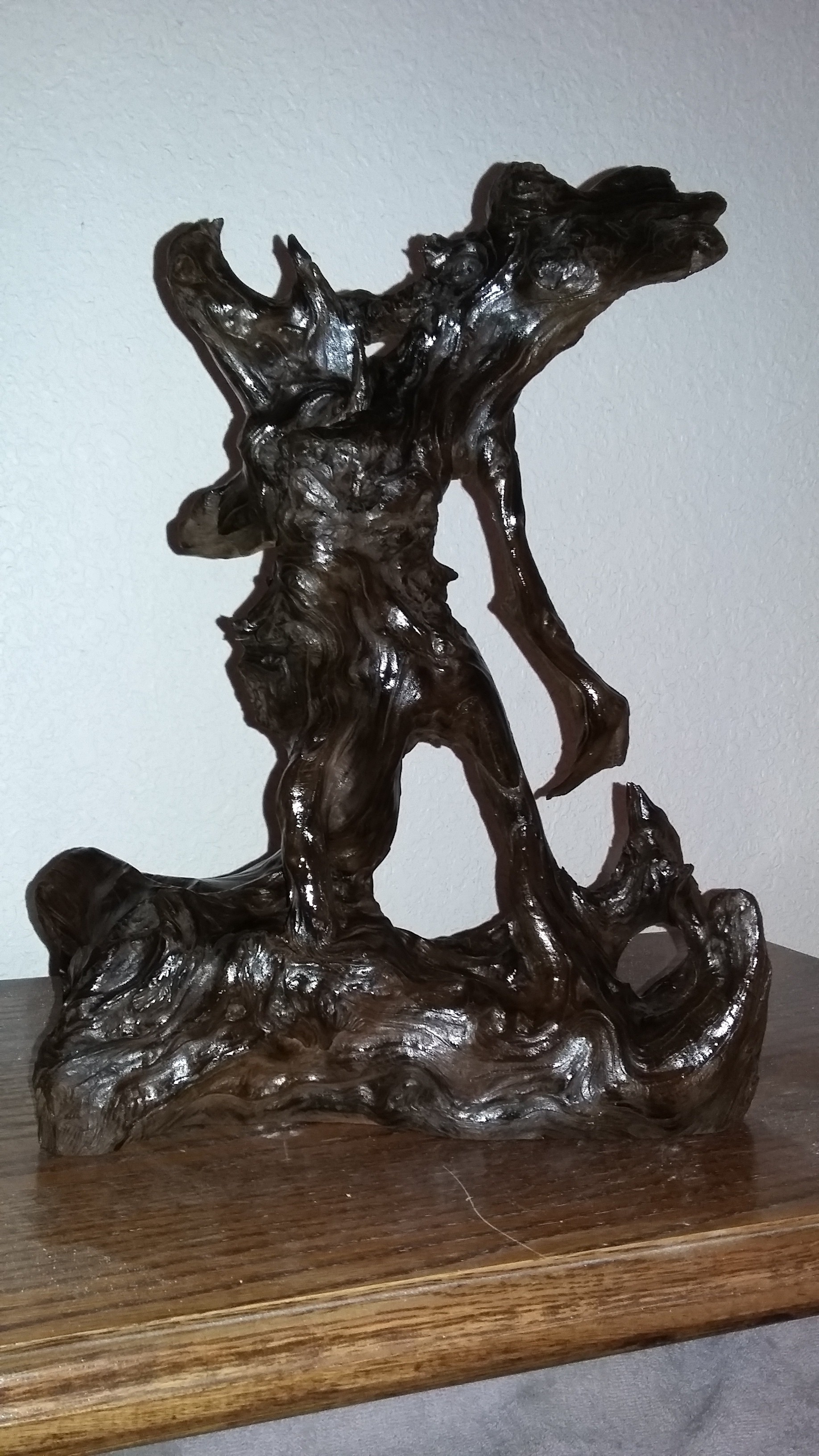 drift wood statue 002