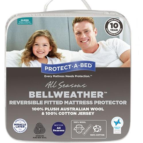 Bellweather Wool & Cotton Mattress Protector