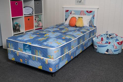 SINGLE BED + HEADBOARD SET