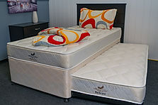 Quality Trundler Bed, Mattress