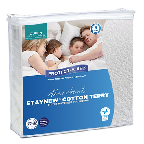 Staynew Cotton Terry Mattress Protector
