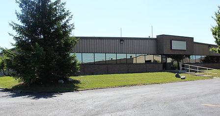 Riverside electronics manufacturing building