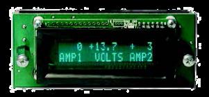 Voltmeter display