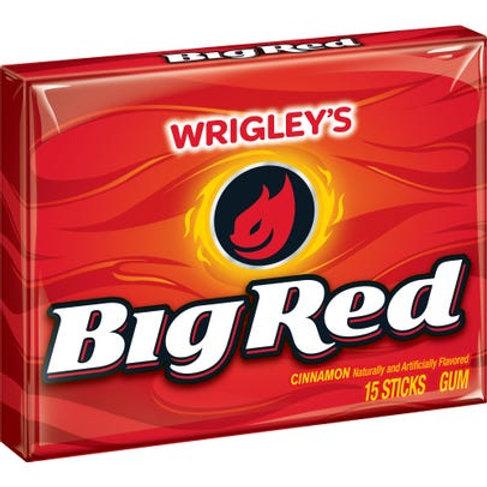 Wringley's Big Red Cinnamon gum