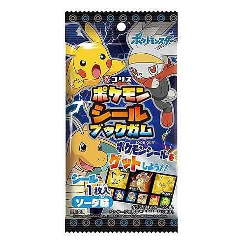 Pokemon Sticker Book Chewing Gum