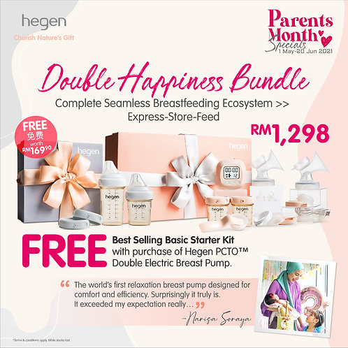 Hegen Parents Month Promo – Double Happiness Bundle