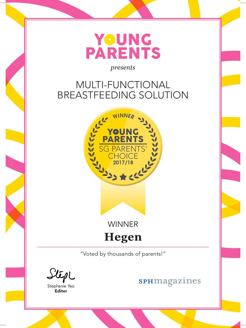 Young Parents SG Parents' Choice 2017/18