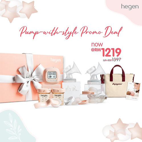 "Hegen Anniversary Promotion Set – ""Pump-with-style"""