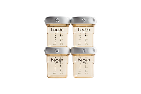 Hegen PCTO™ 150ml/5oz  Storage Bottle (4-Pack)