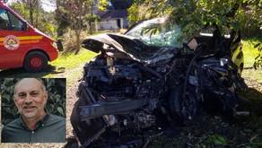 GARIBALDI Morre homem ferido em acidente na RSC-453, em Farroupilha