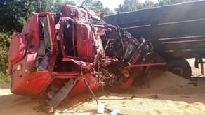 Morador de Farroupilha morre em acidente envolvendo quatro caminhões em Estrela