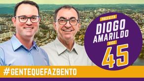 Justiça Eleitoral mantém cassação da chapa Diogo e Amarildo