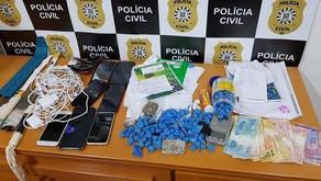 Polícia civil de Carlos Barbosa cumpre mandados de busca e apreensão no presídio em Bento Gonçalves