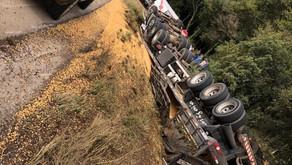 Caminhoneiro de Carlos Barbosa more em um grave acidente em Antônio Prado Nesta sexta-feira, dia 16