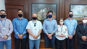Administração municipal apresentou quatro novos secretários e o novo assessor de imprensa