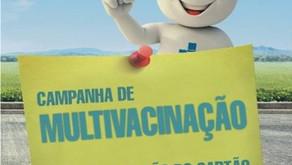 Campanha de Multi vacinação para crianças e adolescentes acontece de 11 a 22 de setembro