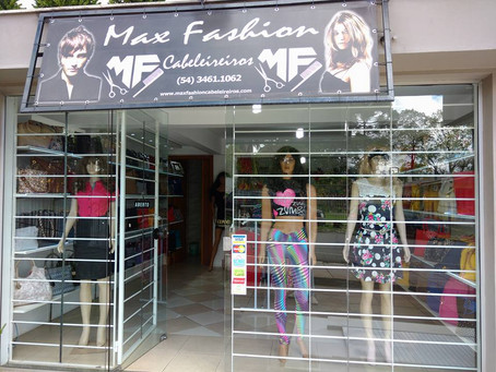Novidades no Max  Fashion Cabeleireiros