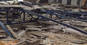 Cenário de destruição causado por tempestades em pontos da região Missioneira do RS