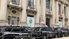viaturas semiblindadas para Caxias do Sul, Cotiporã, Garibaldi, São Francisco de Paula e Farroupilha