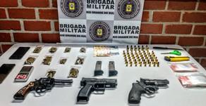 Veranópolis Homem é preso por tráfico de drogas e porte ilegal de arma