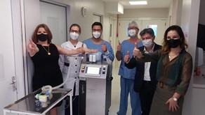 A Tramontina cria Respiradores e são doados a unidades de saúde