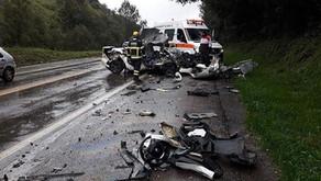 Acidente com veículo de Nova Prata deixa vítima fatal na BR 285 em Caseiros