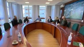 Carlos Barbosa realiza encontro com autoridades foram debatidos vários assuntos de interesse comum