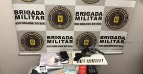 Farroupilha BM encontra nomes e CPFs em prisão de supostos integrantes de facção