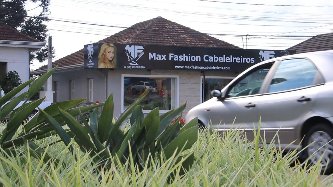 Max Fashion Cabeleireiros em Carlos Barbosa RS Mídia Digital