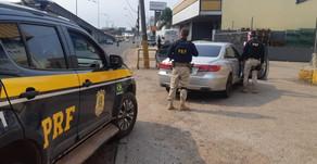 Homem é preso com drogas e dispositivo para furto em veículos
