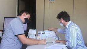 Prefeito Everson Kirch propõe ajuda para solução de problemas junto à Corsan