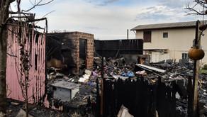 Carlos Barbosa Idosa morre carbonizada após incêndio atingir residência NO BAIRRO TRIANGULO