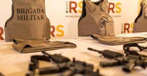 Carlos Barbosa recebe novos armamentos do Governo do Estado para a Brigada Militar
