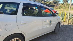 servidor público de Carlos Barbosa colide carro oficial e mulher afirma ser vítima de abuso de poder