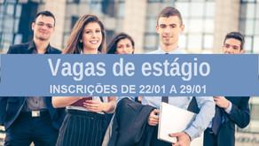 Prefeitura abre seleção para cadastro reserva de estagiários no dia 22