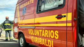 Garibaldi Em ato heroico, Bombeiros salvam vida de mulher que tentava suicídio