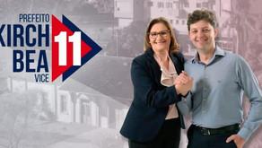 Eleições 2020: Everson Kirch e Bea são eleitos prefeito e vice de Carlos Barbosa