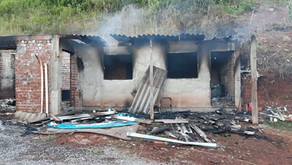 Alto Feliz Incêndio em residência com vítima fatal