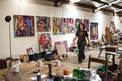 Artist Wendy Sharpe Studio