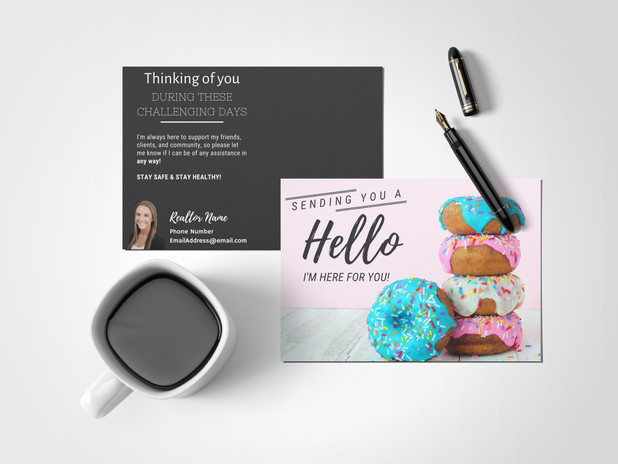 Blink Hello Postcard
