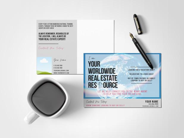 Blink Real Estate Expert Postcard