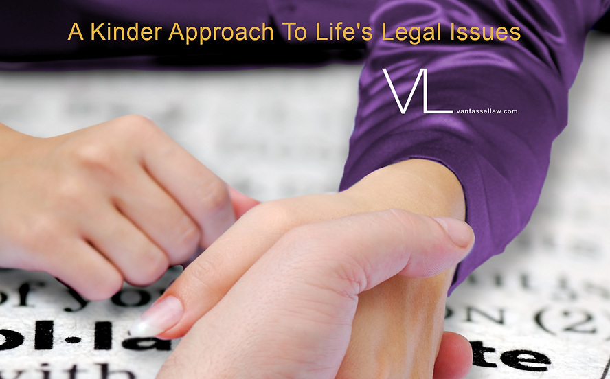A Kinder Approach To Life's Legal Issues