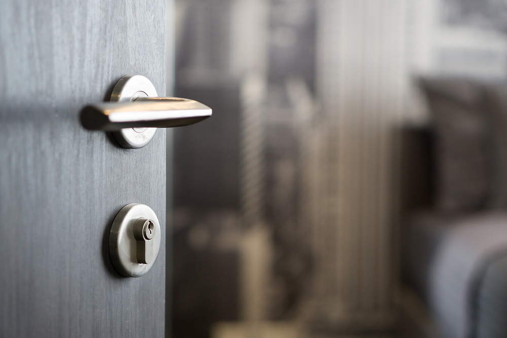 Germs Hiding on Doorknob