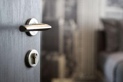 Knights Resources Door furnishings installed