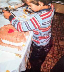 an E.T. Birthday; age 6
