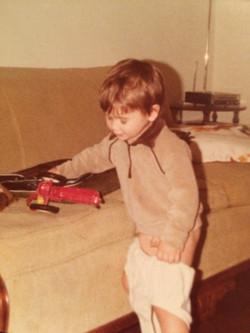 Me, age 3